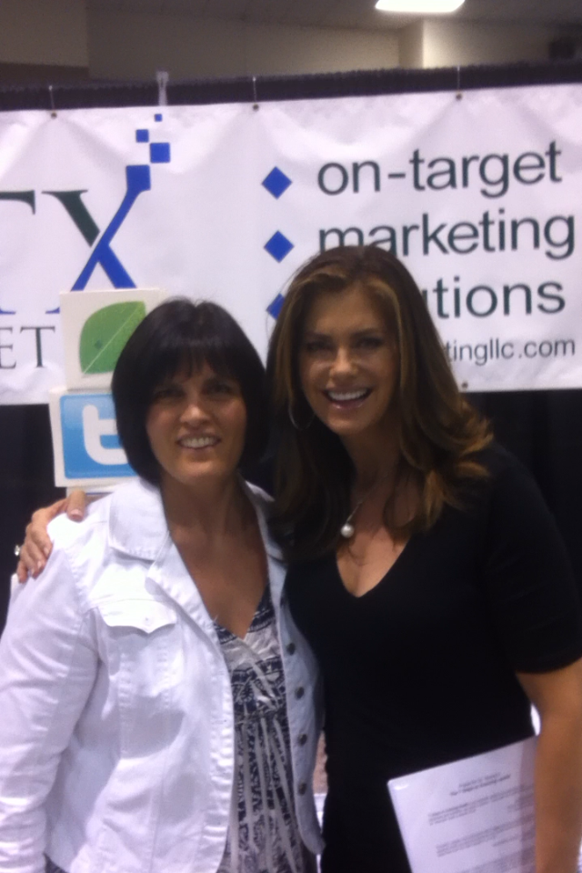 Wendy Schauer and Kathy Ireland.